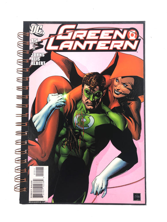 Green Lantern #15 Comic Journal-Red Barn Collections