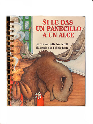 Spanish Text: If You Give A Moose a Muffin-Red Barn Collections