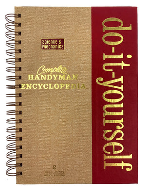Do It Yourself - Complete Handyman Encyclopedia Journal-Red Barn Collections