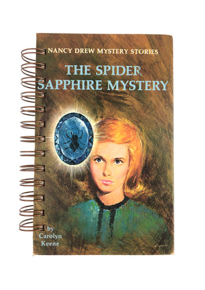 Nancy Drew #45 - The Spider Sapphire Mystery-Red Barn Collections