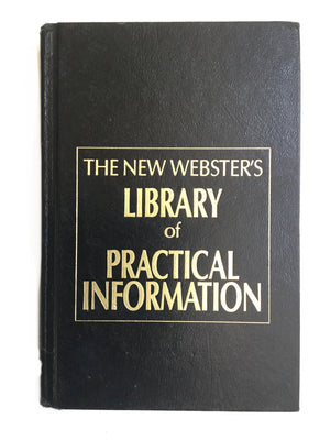 The New Webster's Library of Practical Information-Red Barn Collections