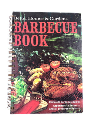 Better Homes and Gardens: Barbeque Book (1959 printing and different cover photo)-Red Barn Collections