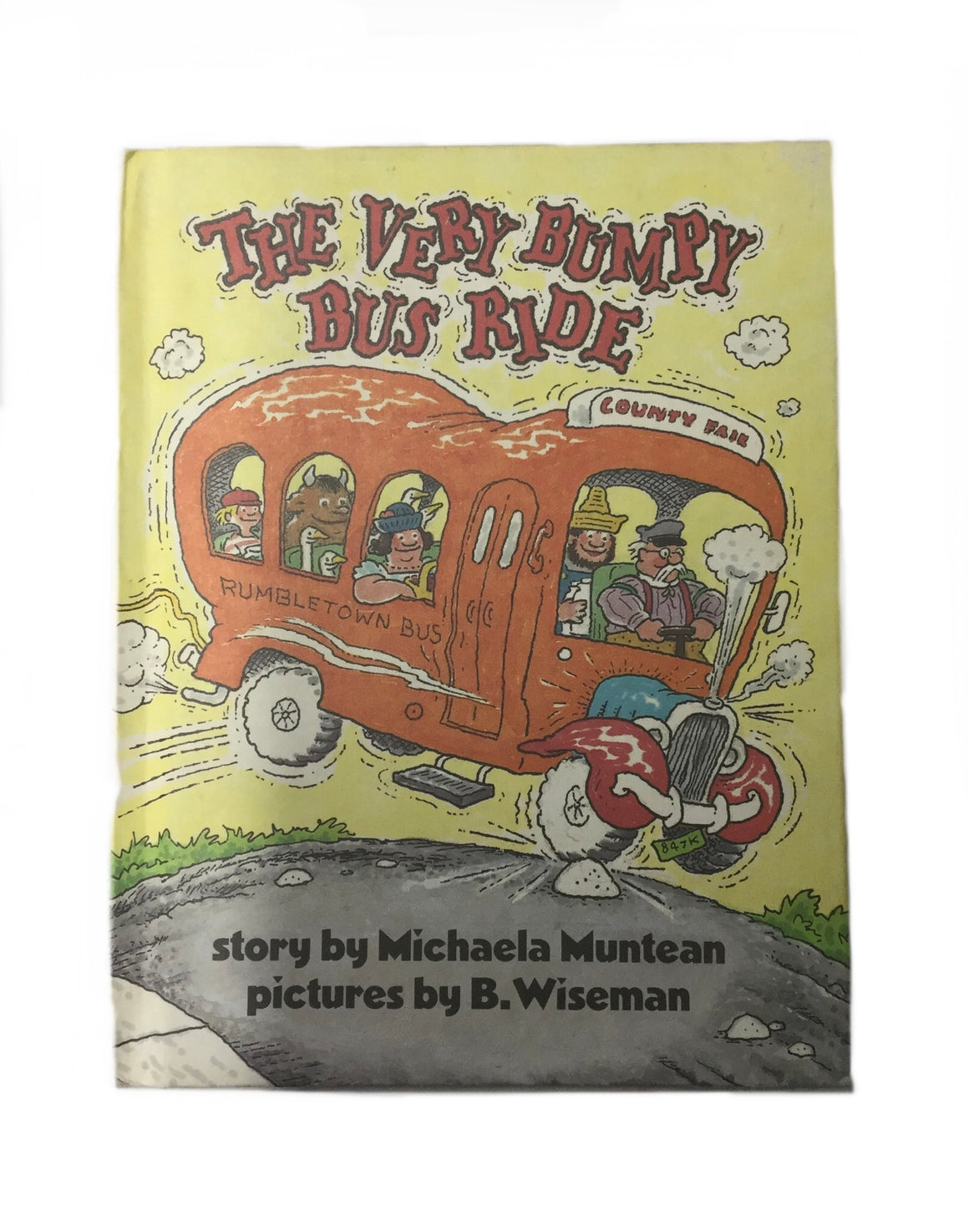 The Very Bumpy Bus Ride-Red Barn Collections