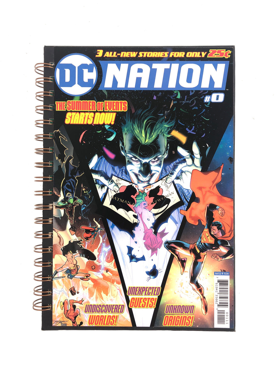DC Nation #0 Comic Journal-Red Barn Collections