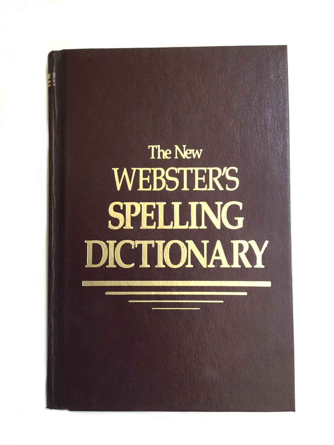 The New Webster's Spelling Dictionary-Red Barn Collections