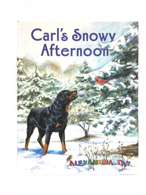 Carl's Snowy Afternoon-Red Barn Collections