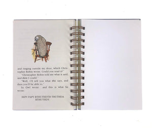 A Winnie-The-Pooh Storybook Journals-Red Barn Collections