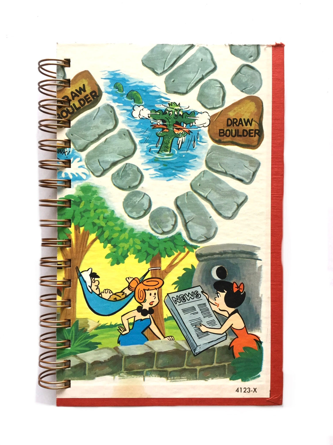 Flinstones - Game Board Journal-Red Barn Collections