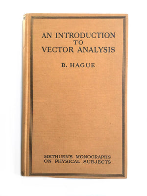 An Introduction To Vector Analysis-Red Barn Collections