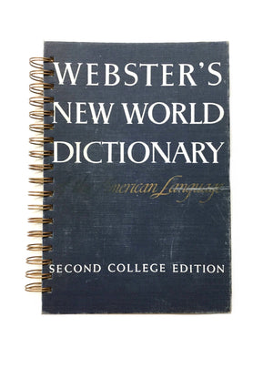 Webster's New World Dictionary Vintage-Red Barn Collections