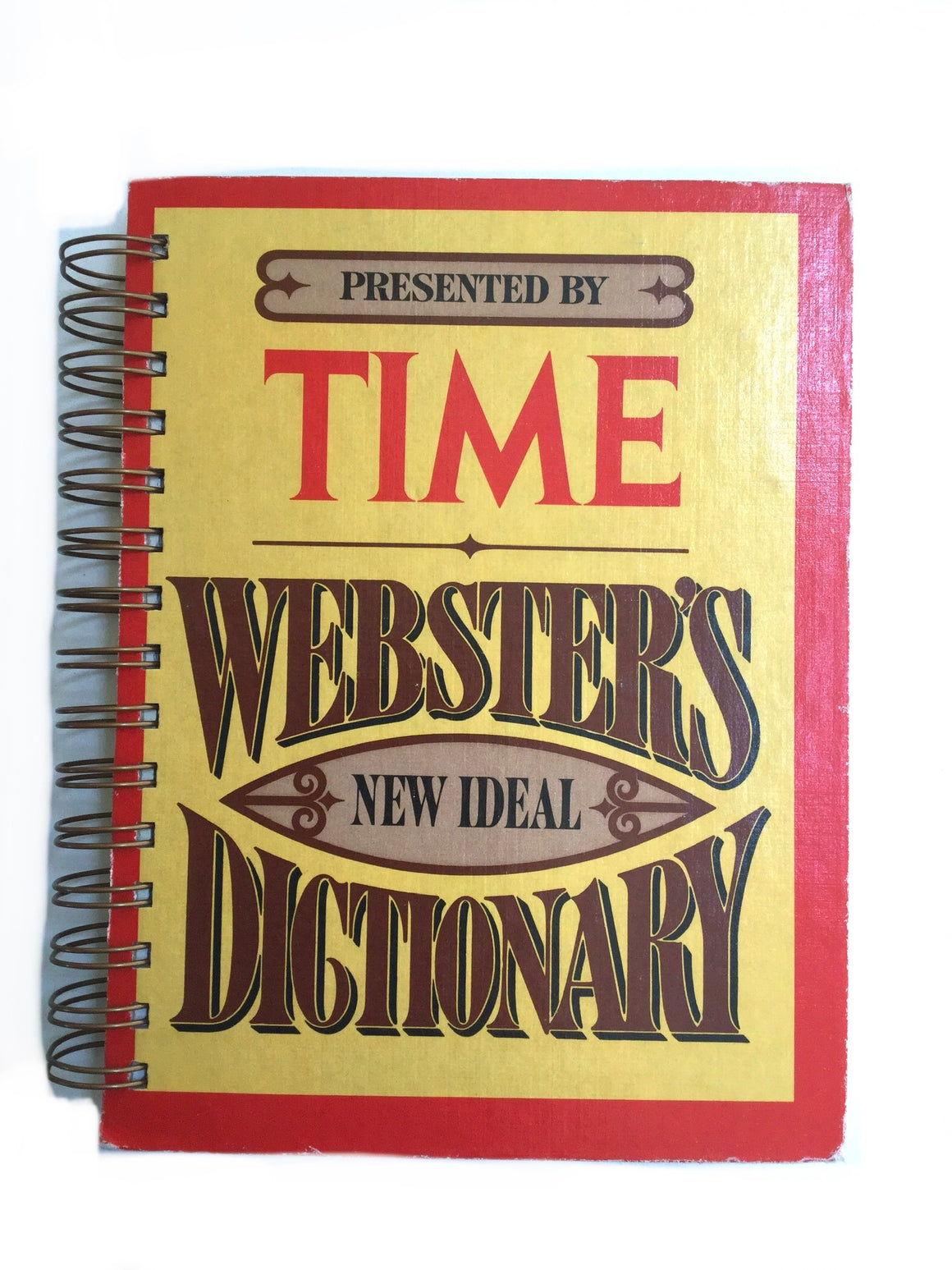 Time Webster's Dictionary-Red Barn Collections