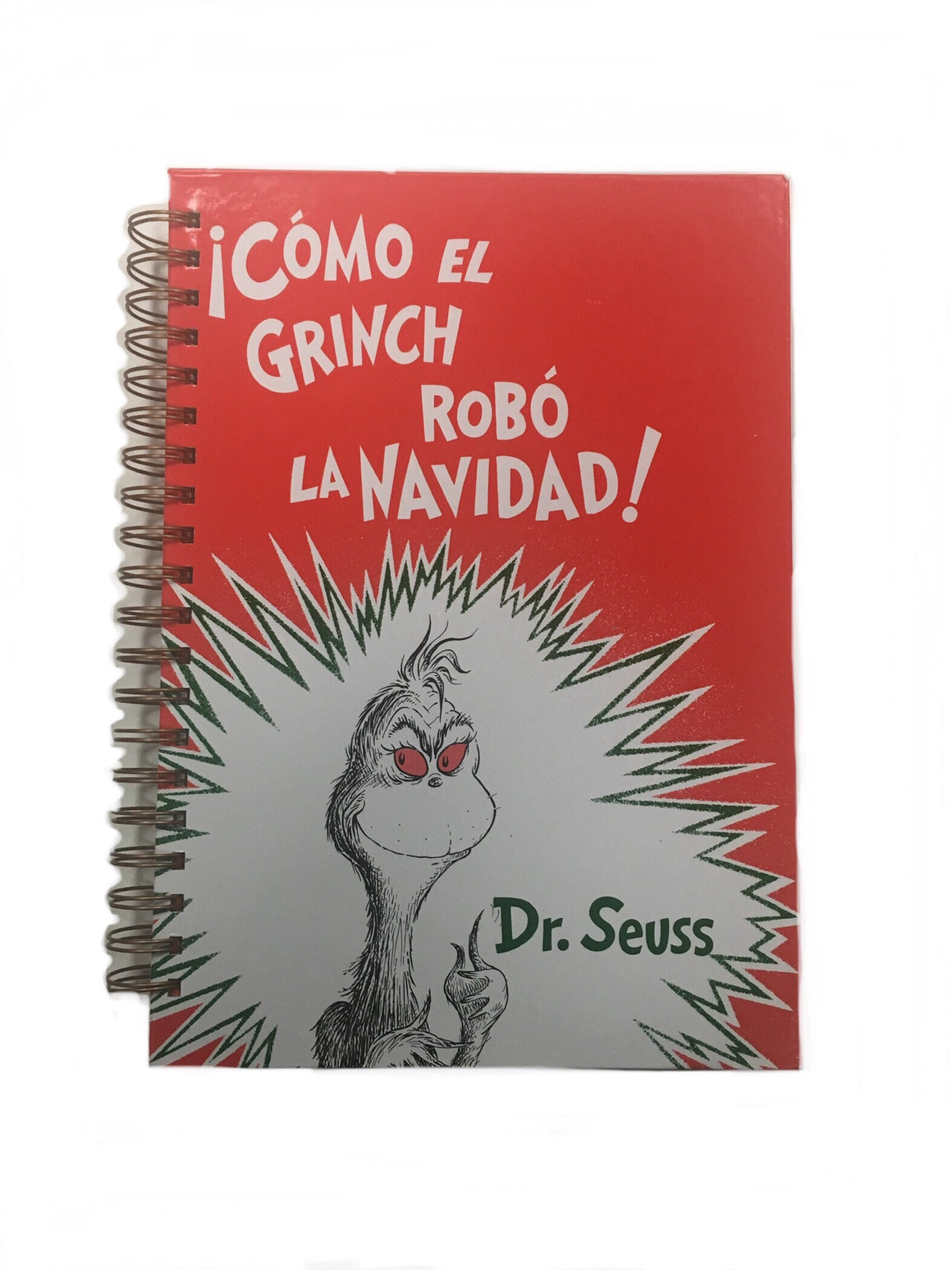 Como El Grinch Robo La Navidad-Red Barn Collections