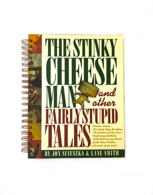 Stinky Cheese Man - Fairly Stupid Tales-Red Barn Collections