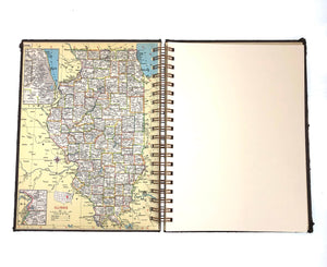 World Atlas Travel Journal-Red Barn Collections