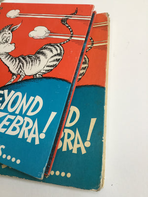 On Beyond Zebra 1955 Printing-Red Barn Collections