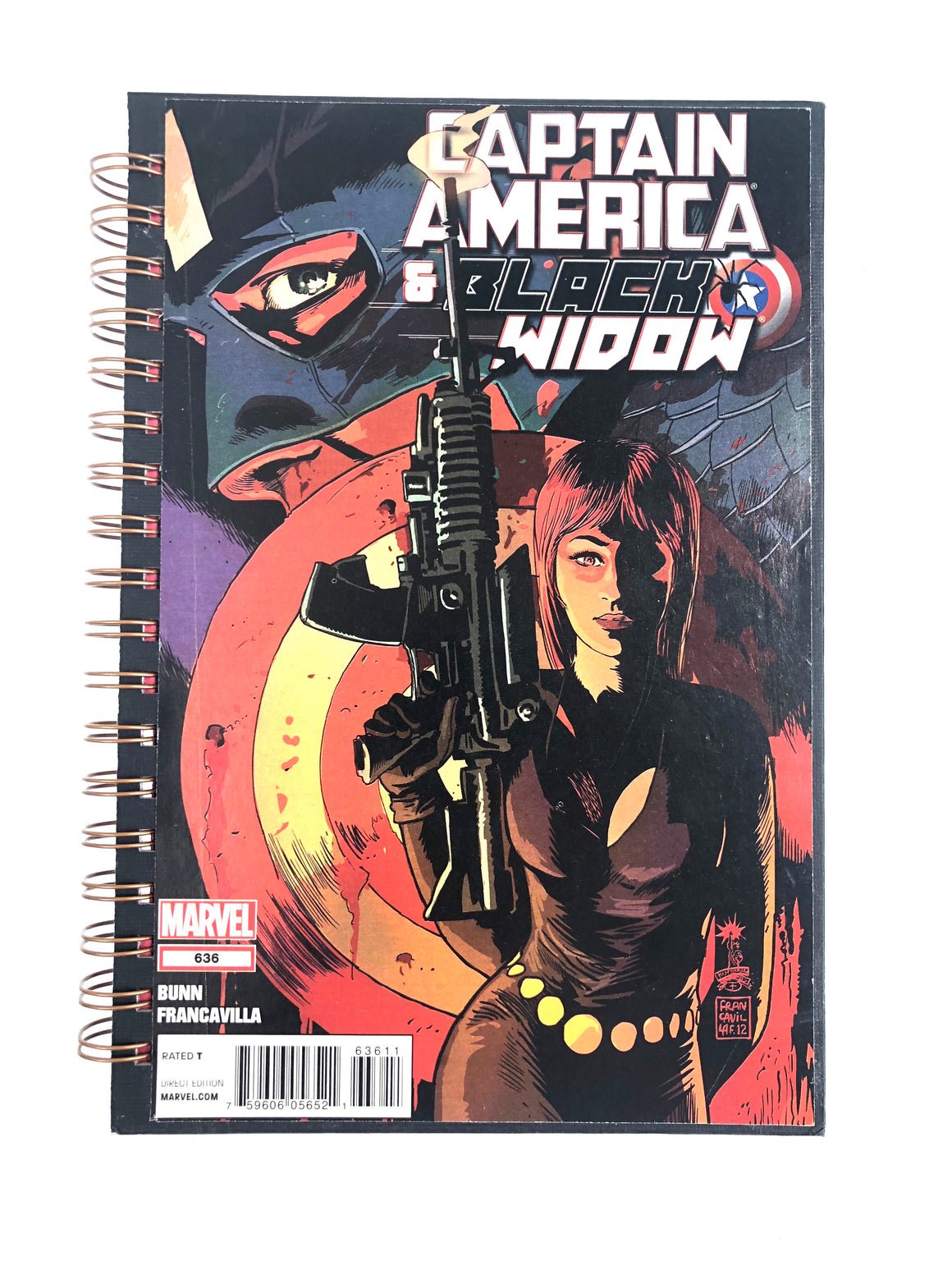 Captain America and Black Widow #636 Comic Journal-Red Barn Collections