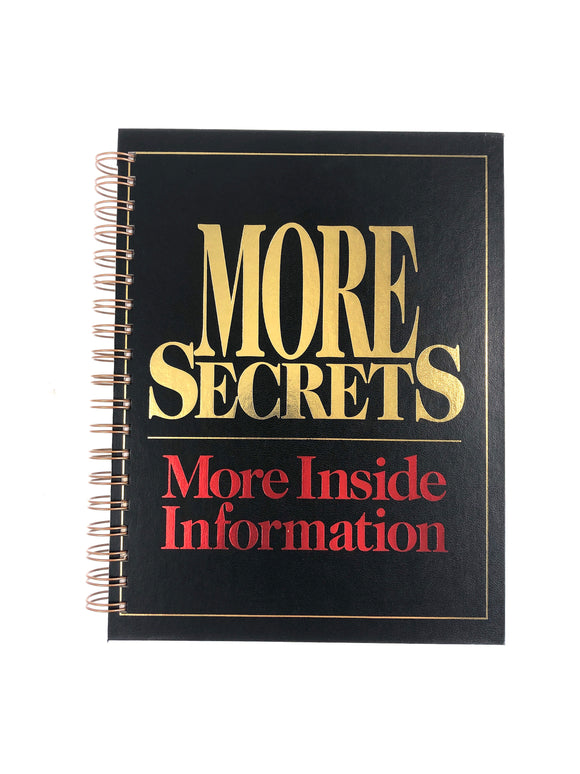 More Secrets More Inside Information-Red Barn Collections