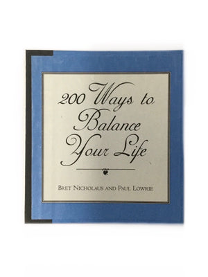 200 Ways to Balance Your Life-Red Barn Collections