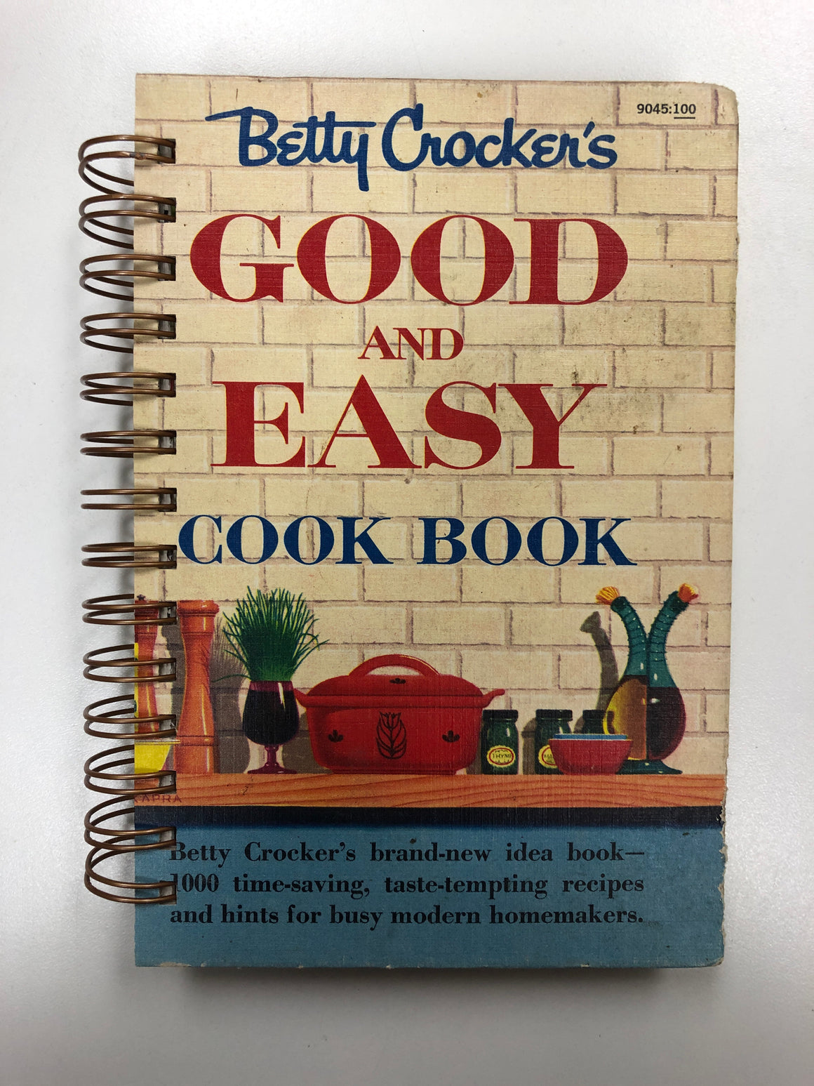 Betty Crocker's Good and Easy Cookbook Journal-Red Barn Collections