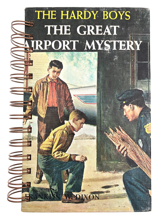 The Hardy Boys #09 - The Great Airport Mystery-Red Barn Collections
