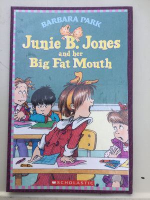 Junie B. Jones and Her Big Fat Mouth-Red Barn Collections