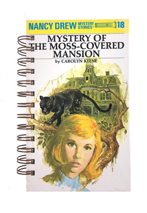 Nancy Drew #18 - Mystery of the Moss-Covered Mansion-Red Barn Collections