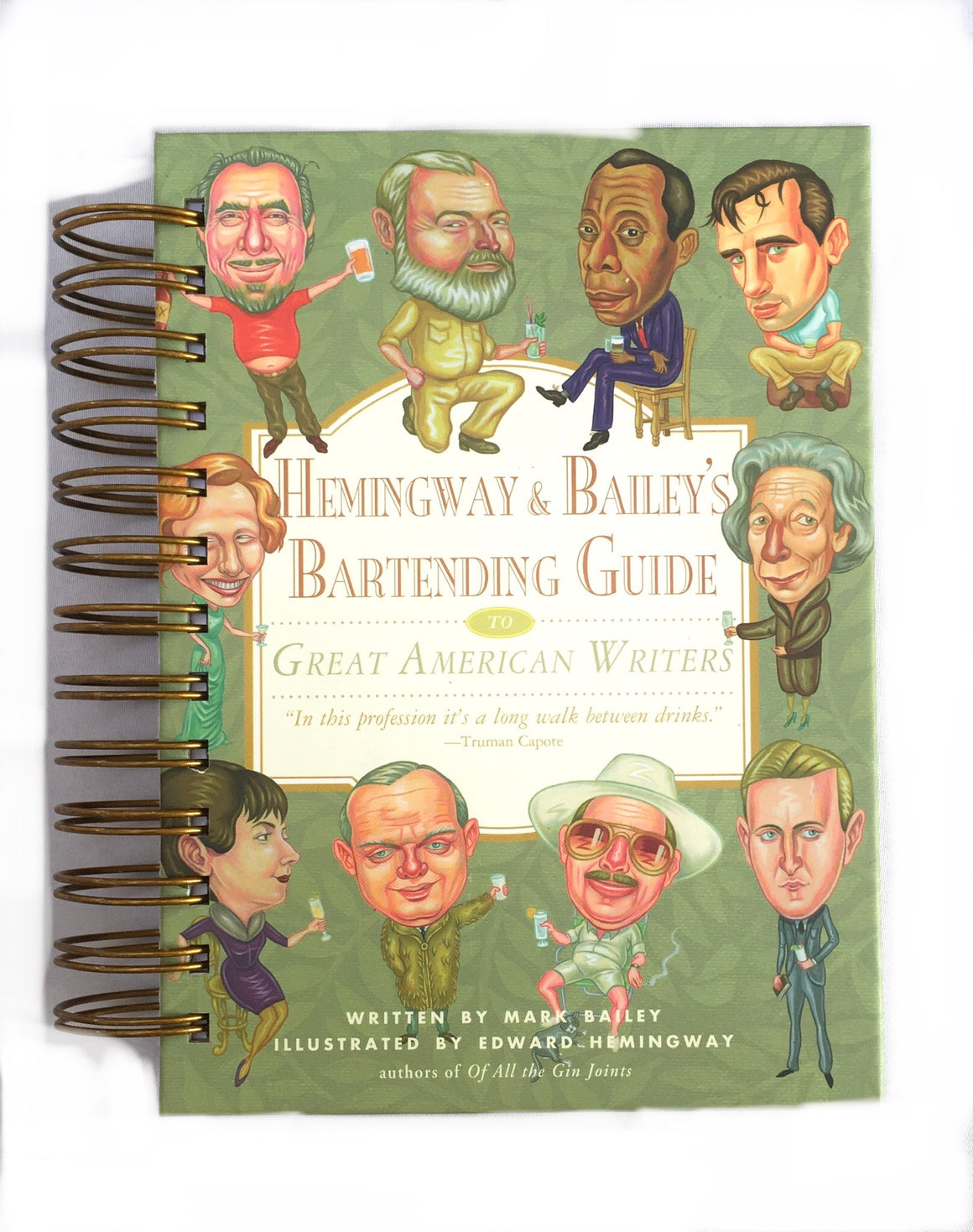 Hemingway & Bailey's Bartending Guide-Red Barn Collections