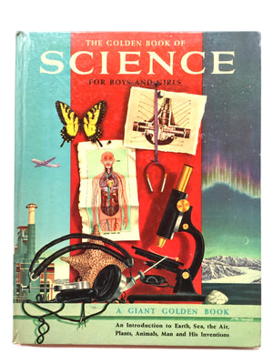 The Golden Book Of Science-For Boys And Girls-Red Barn Collections