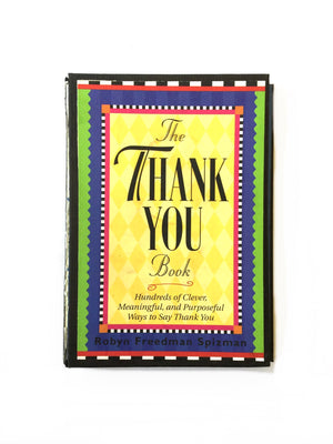 The Thank You Book - Hundreds of Ways to Say Thank You-Red Barn Collections