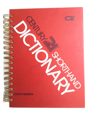 Century 21 Shorthand Dictionary-Red Barn Collections