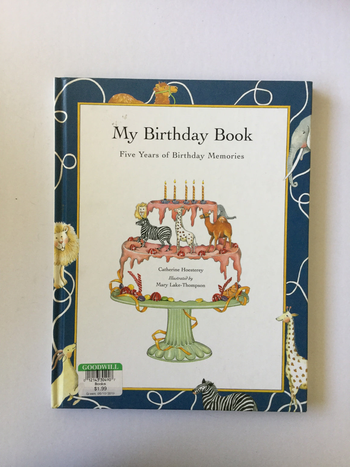 My Birthday Book Five Years of Birthday Memories-Red Barn Collections