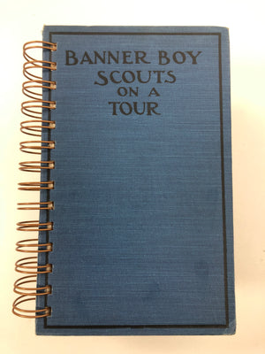 Banner Boy Scouts on a Tour-Red Barn Collections