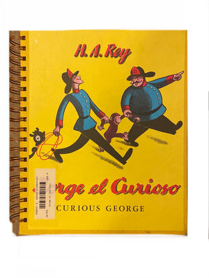 Spanish text - Curious George-Red Barn Collections