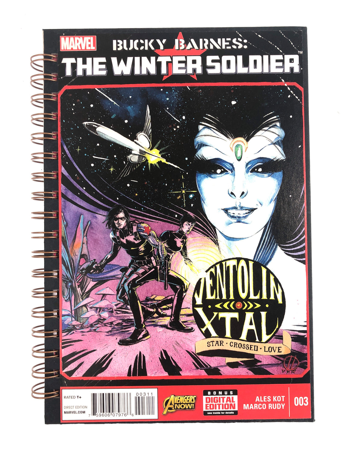 Bucky Barnes: The Winter Soldier #3 Comic Journal-Red Barn Collections