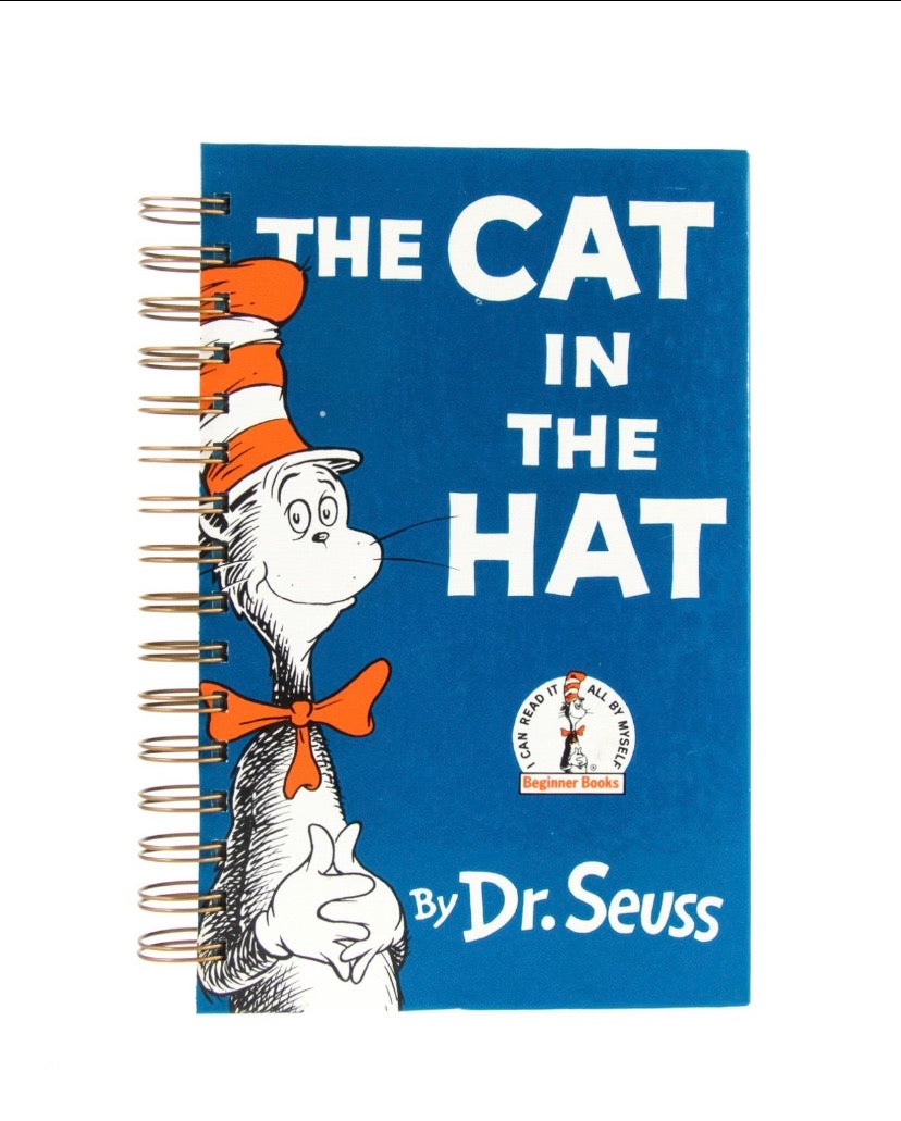 Cat in the Hat - lined college rule-Red Barn Collections