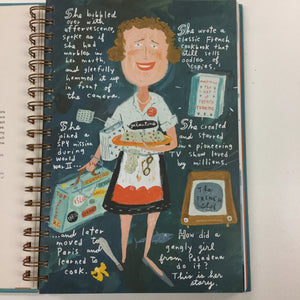 Bon Appetit the delicious life of Julia Child-Red Barn Collections