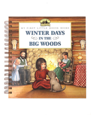 Winter Days in the Big Woods Book Journal-Red Barn Collections
