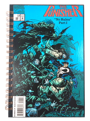 "The Punisher ""No Rules"" Part 1 Comic Journal-Red Barn Collections"
