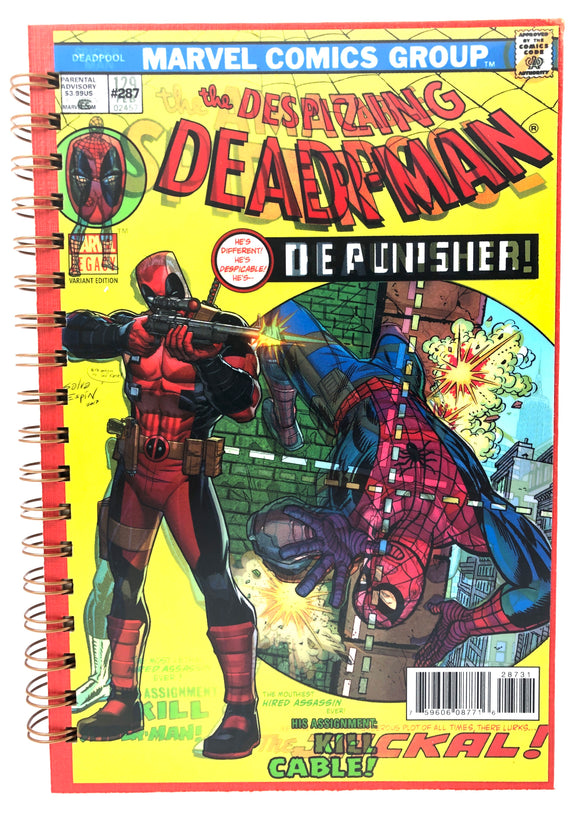The Despicable Deadpool Comic Journal-Red Barn Collections