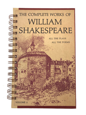 The Complete Works of William Shakespeare Journal-Red Barn Collections