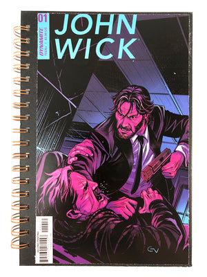 John Wick 01 Comic Journal-Red Barn Collections