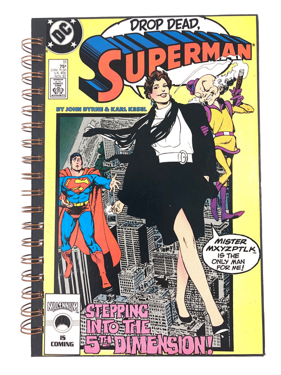 Drop Dead, Superman Comic Journal-Red Barn Collections