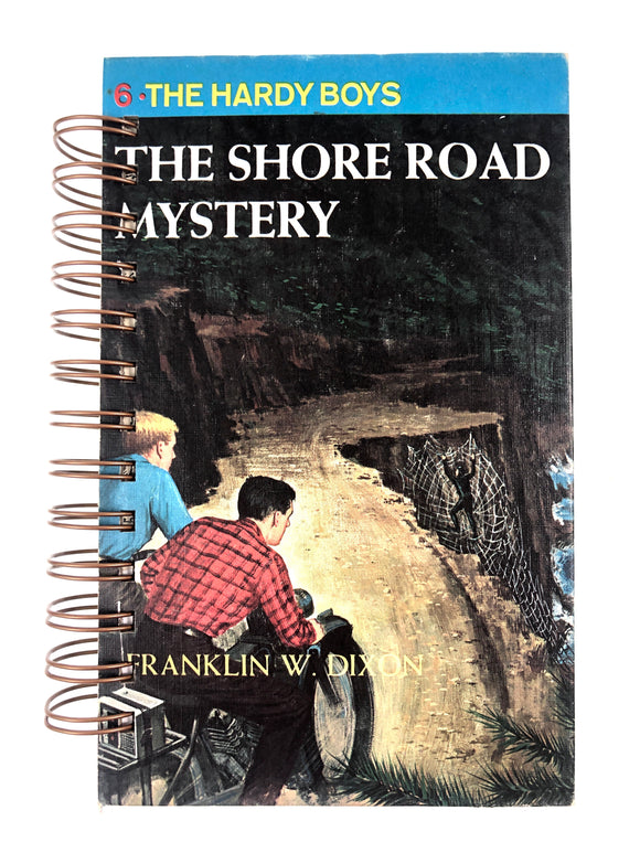 The Hardy Boys #06 - The Shore Road Mystery-Red Barn Collections