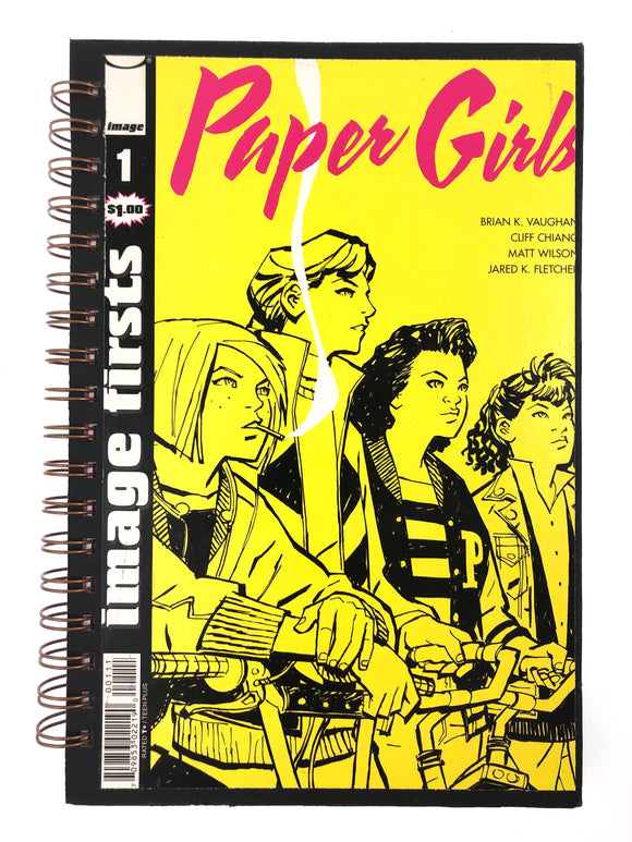 Paper Girls #1 Comic Journal-Red Barn Collections