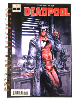 Deadpool 009 Comic Journal-Red Barn Collections
