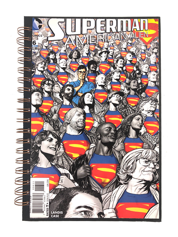 Superman American Alien #6 Comic Journal-Red Barn Collections