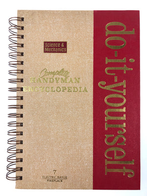 Do It Yourself - Complete Handyman Encyclopedia Journal (#1, #2, #8, #9, #10, #16, #17, #20,#23)-Red Barn Collections