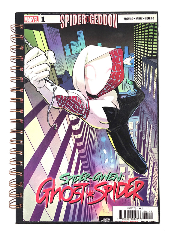 Spider-Gwen: Ghost Spider Comic Journal-Red Barn Collections