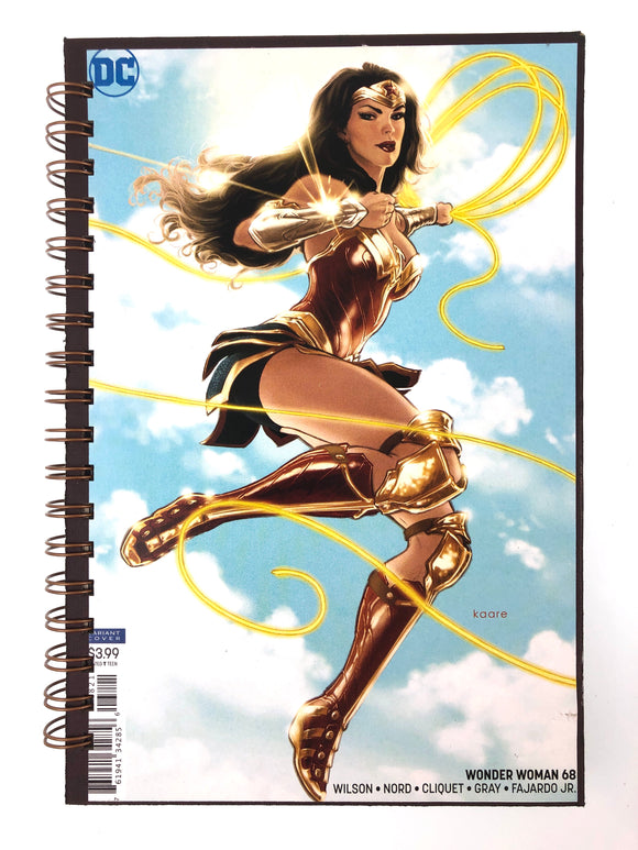Wonder Woman 68 Comic Journal-Red Barn Collections