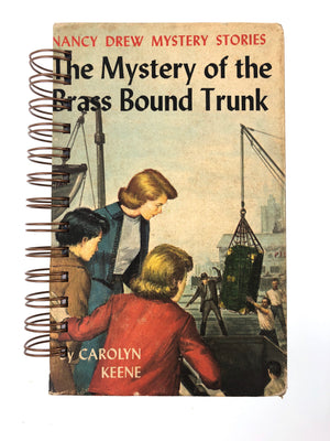 Nancy Drew #17 - Mystery of the Brass Bound Trunk-Red Barn Collections